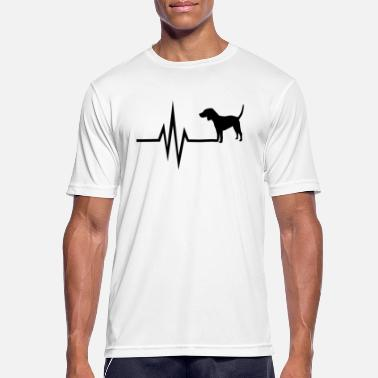 Fci My heart beats for dogs - Beagle - Men's Breathable T-Shirt