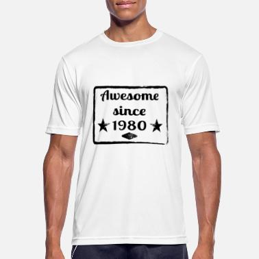 Awesome Since Awesome since 1980 - Men's Sport T-Shirt