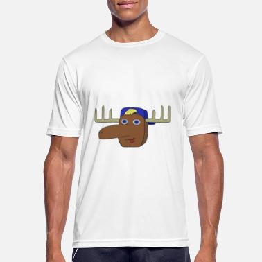 Alf Alf the moose - Men's Breathable T-Shirt