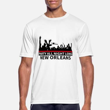 New Orleans NEW ORLEANS - Party All Night Long - Miesten urheilu t-paita