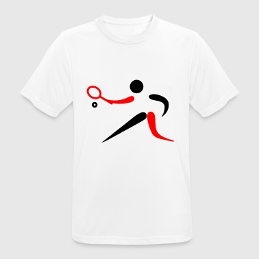 Tennis Logo Tennis Sport Logo pictogram - Men's Breathable T-Shirt