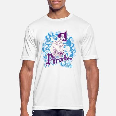 Witty Pirates, ghosts of the oceans. - Men's Breathable T-Shirt