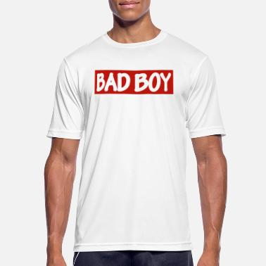 Bad Boy BAD BOY - white / red - Men's Breathable T-Shirt