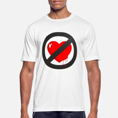Loved LOVE DOES NOT EXIST - Men's Breathable T-Shirt