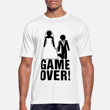Bachelor Bachelor party | Bridegroom | Game Over! - Men's Sport T-Shirt