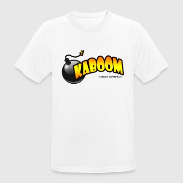 Kaboom - Men's Breathable T-Shirt