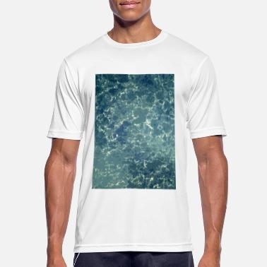 Textures texture of the sea - Men's Sport T-Shirt