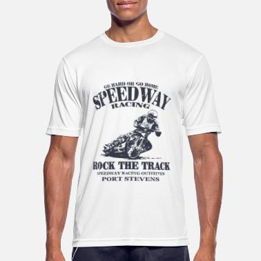 Grass Speedway Racing - Men's Breathable T-Shirt