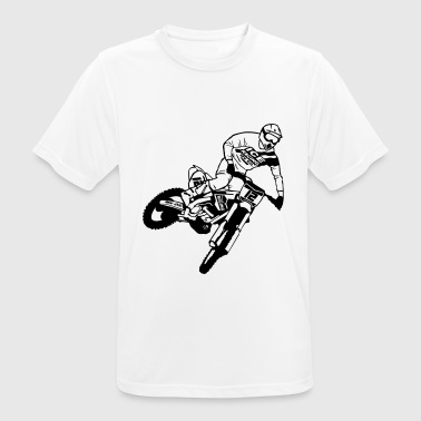 Motocross - Supercross - Men's Breathable T-Shirt