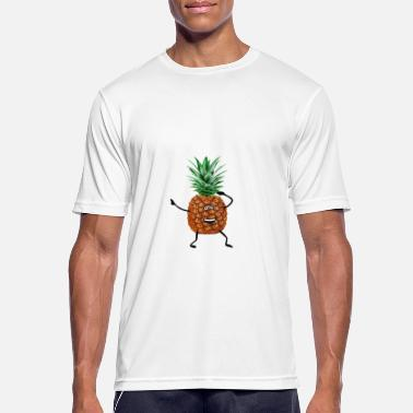Funny Pineapple cool pineapple - Men's Breathable T-Shirt