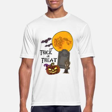 Halloween Trick or Treat - T-shirt sport Homme
