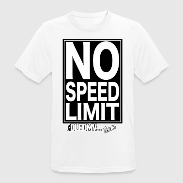 DLEDMV - No speed limit - T-shirt respirant Homme