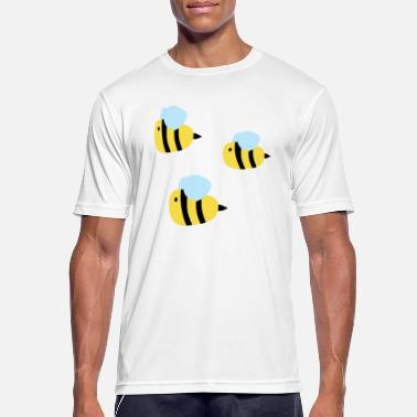 Bee Swarm bee - Men's Breathable T-Shirt