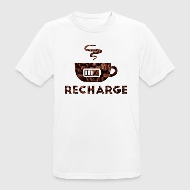 Recharge - Men's Breathable T-Shirt
