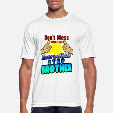 Step Brothers Incredible step-brother family shirt for birthday - Men's Sport T-Shirt