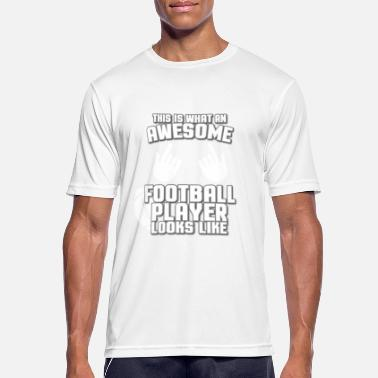 Awesome Footballer This Is What An Awesome Football - Men's Breathable T-Shirt