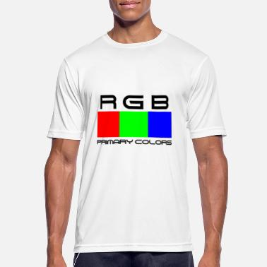 RGB Colori Primari - Men's Breathable T-Shirt