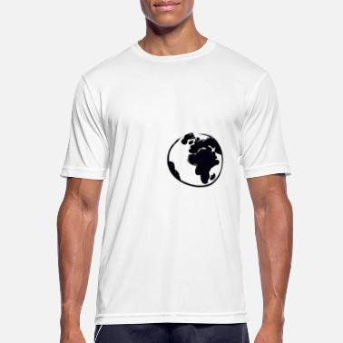 Globe globe - Men's Breathable T-Shirt