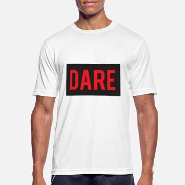 Daring DARE - Dare - RED color - Men's Breathable T-Shirt