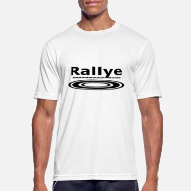 Rally Rally rundt - Sport T-skjorte for menn