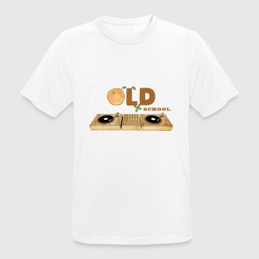 Old School Techno old school - Men's Breathable T-Shirt