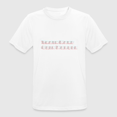 Train Hard Gain Harder - mannen T-shirt ademend