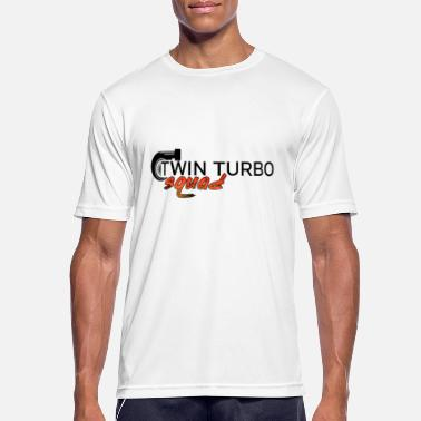 Turbo twin turbo squad tuning suckers - Men's Breathable T-Shirt