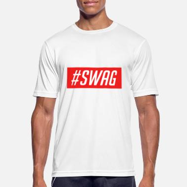 Simple-swag #SWAG - Men's Breathable T-Shirt