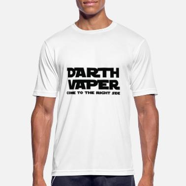 Vaper vector de Darth Vaper - Camiseta hombre transpirable