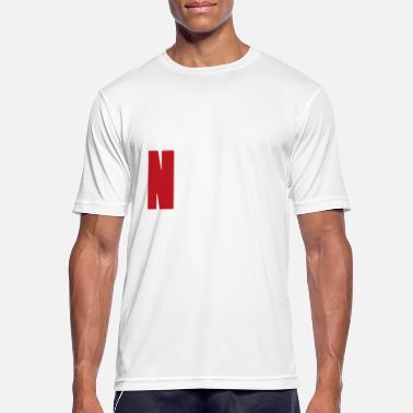 Classic Rock NoMusicNoLifeWhiteRed - Men's Breathable T-Shirt