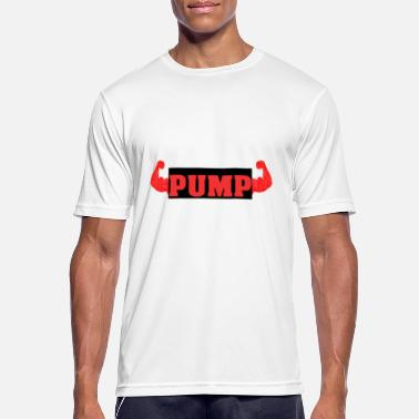 Pumping Iron PUMP iron easy - Men's Breathable T-Shirt