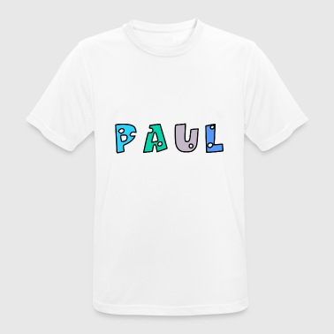 Paul - Camiseta hombre transpirable