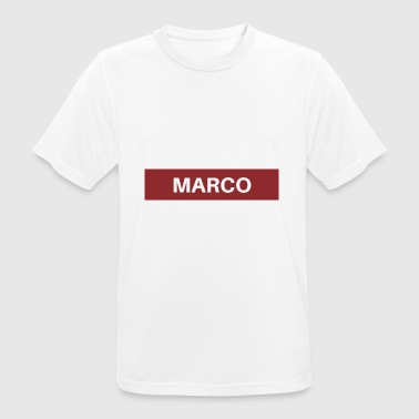 Marco Marco - Men's Breathable T-Shirt