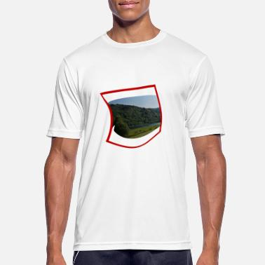 Big Mouth Big mouth with landscape - Men's Breathable T-Shirt