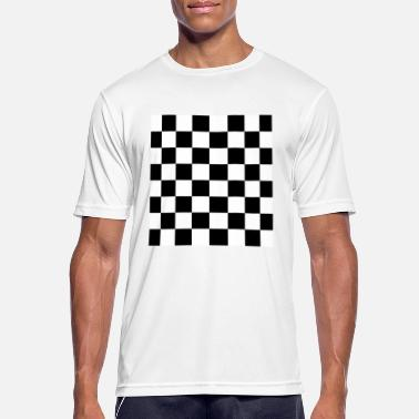 Checkerboard checkerboard - Men's Breathable T-Shirt