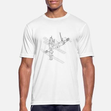 Space Satellite ISS satellite space NASA - Men's Breathable T-Shirt