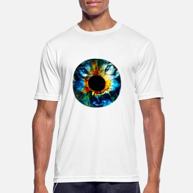 Wolf Eyes Eye of the wolf - Men's Breathable T-Shirt