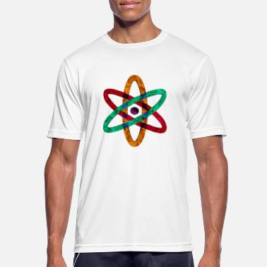 Atom anatomic atomic atoms - Men's Sport T-Shirt