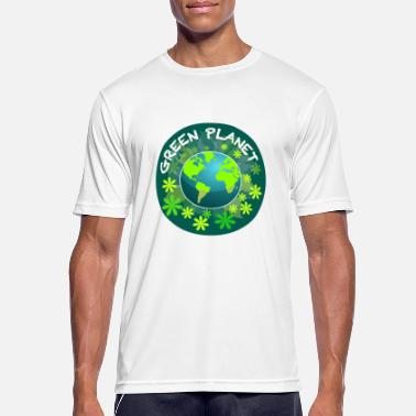 Planet Green Planet - Men's Sport T-Shirt