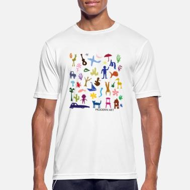 Art Matisse inspired - Men's Sport T-Shirt