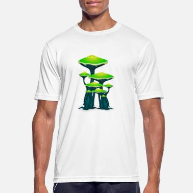 Ticker Magic Mushrooms Mushrooms Ticker Psytrance Goa Techno - Men's Sport T-Shirt