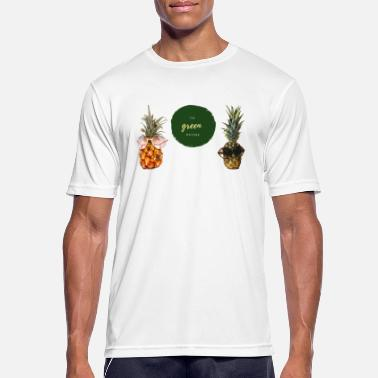 The green Nature of Pineapple - Men's Sport T-Shirt