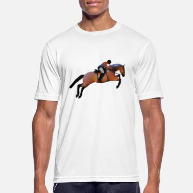 Horse Fan Horse rider - Men's Sport T-Shirt