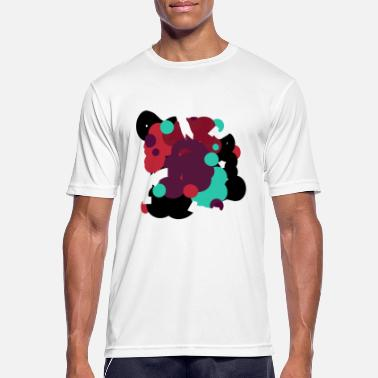 Colored bubbles - Men's Sport T-Shirt