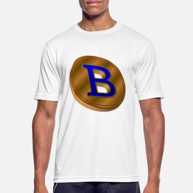 Copper Copper bitcoin - Men's Sport T-Shirt