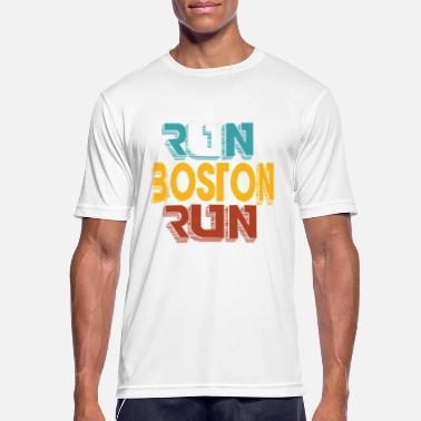 Boston Marathon Boston Marathon - Männer Sport T-Shirt