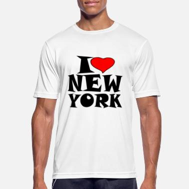 I Love New York New York - I Love New York - I liebe new york - Männer Sport T-Shirt