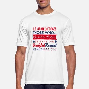 Armed Forces Memorial Day Armed Forces - Men's Breathable T-Shirt