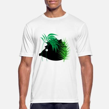 Forest Animal Hedgehog in the forest - animals - forest animals - Men's Breathable T-Shirt