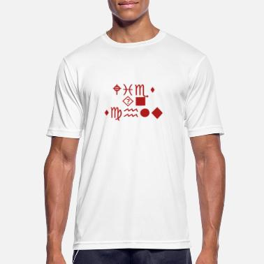 Enigmatic Enigmatic signs - Men's Sport T-Shirt